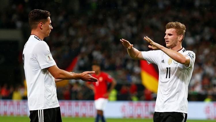 """الماكينات الألمانية """"تفرم"""" النرويج في تصفيات مونديال 2018"""
