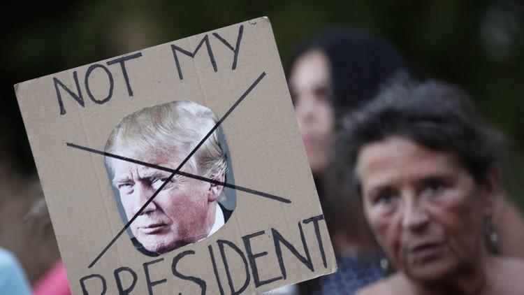 نيويورك تتعهد بمقاضاة ترامب!