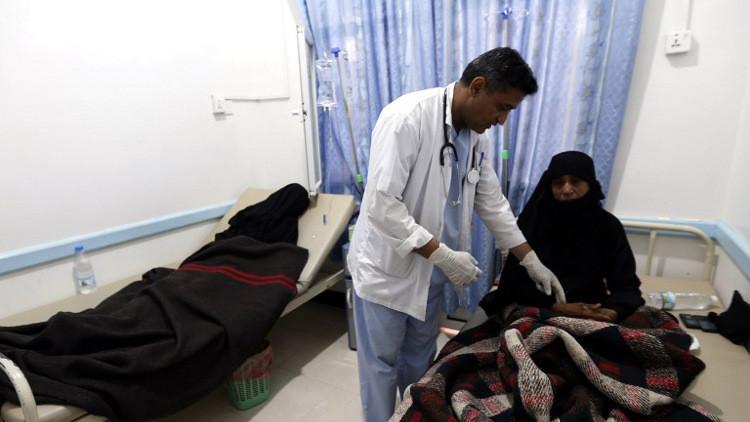 مرض الكوليرا يفتك بأكثر من 600 ألف يمني منذ أبريل