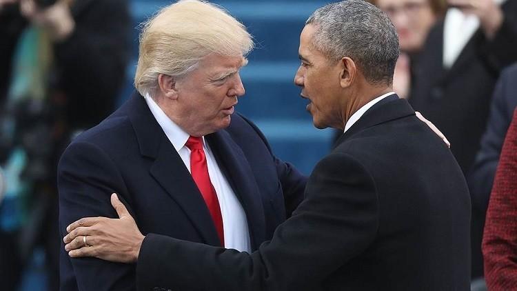 الكشف عن مضمون الرسالة التي تركها أوباما لترامب