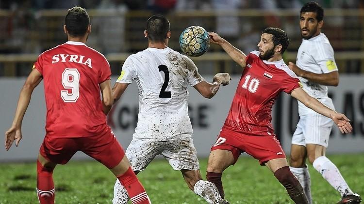 تشكيلة سوريا وإيران ضمن تصفيات مونديال 2018