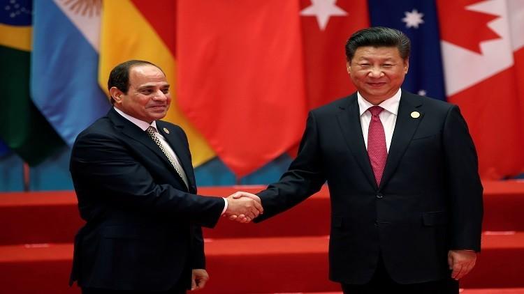 اتفاقات بين مصر والصين لتنفيذ مشروعي قطار وقمر صناعي