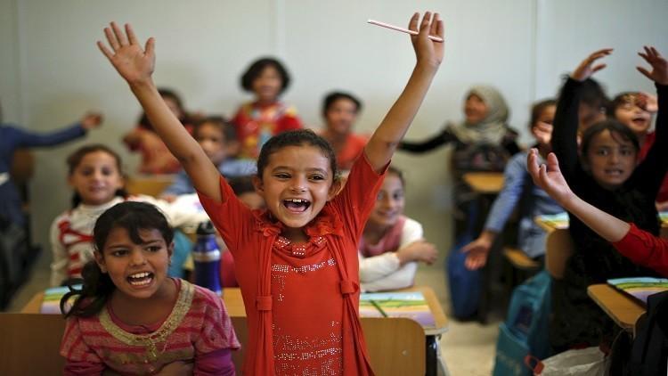 نحو 7% من تلامذة الأردن سوريون