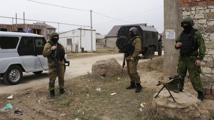 تصفية زعيم عصابة إرهابية في داغستان الروسية