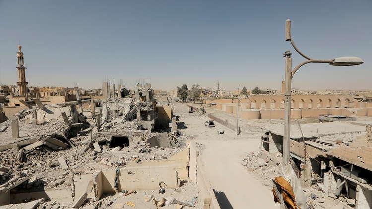 التحالف الدولي يعلن السيطرة على 60% من الرقة ويقتل قياديين من