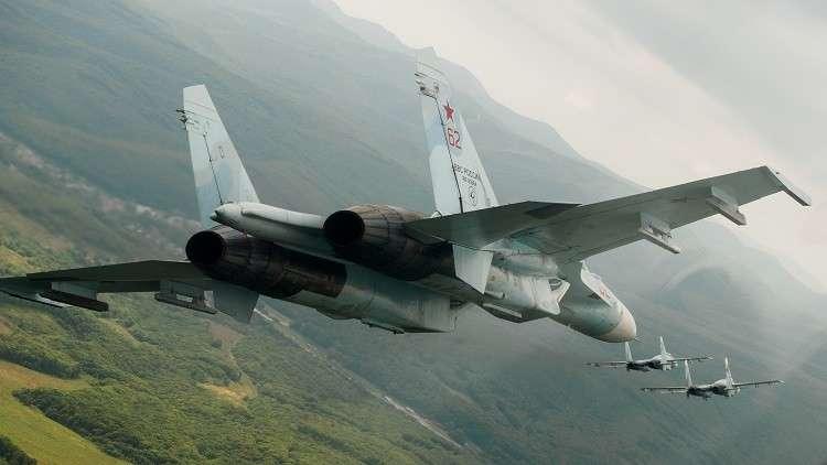 المقاتلات الروسية تعترض 30 طائرة أجنبية في أسبوع