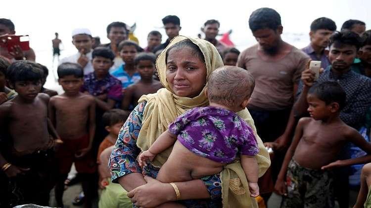 270 ألف روهينغي يلجؤون إلى بنغلاديش خلال أسبوعين