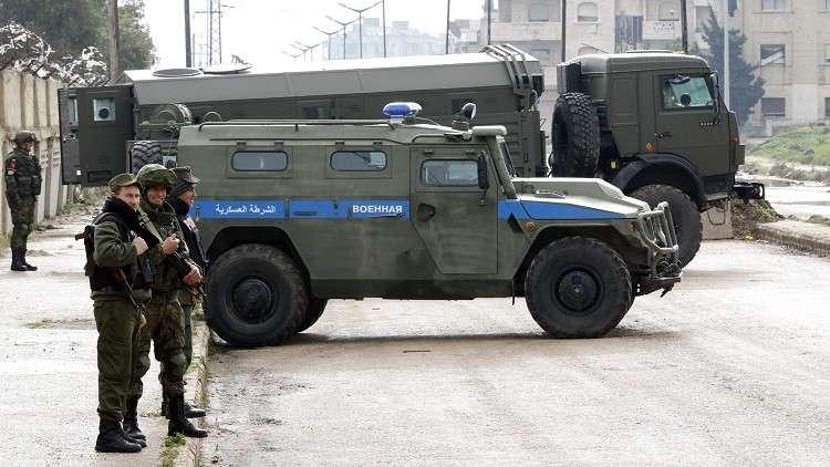 الشرطة العسكرية الروسية تنتشر في عفرين شمال حلب