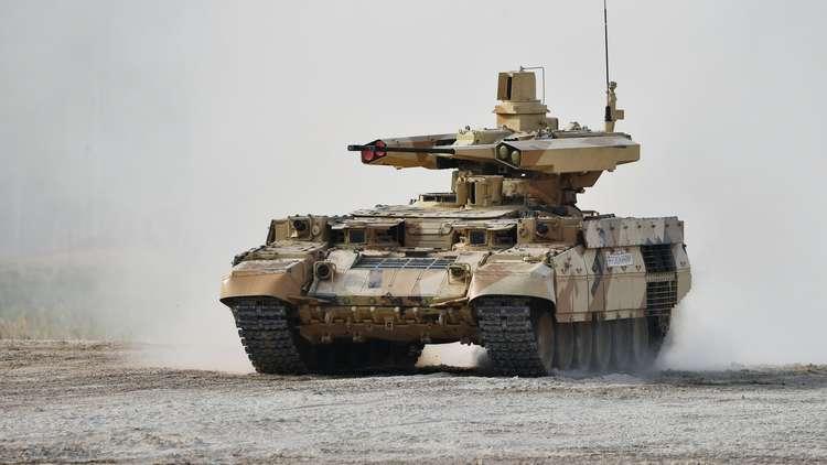 روسيا تستغرب الاهتمام الفجائي لسوريا وإسرائيل بآلية ترميناتور العسكرية