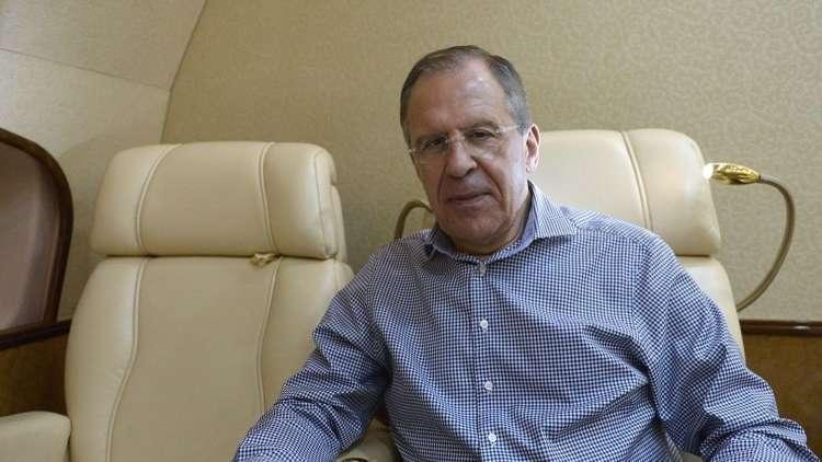 لافروف يبدأ زيارة عمل إلى السعودية والأردن