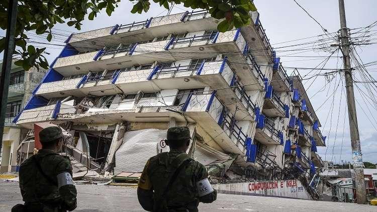 ارتفاع حصيلة قتلى زلزال المكسيك إلى 61 شخصا وإعلان الحداد الوطني
