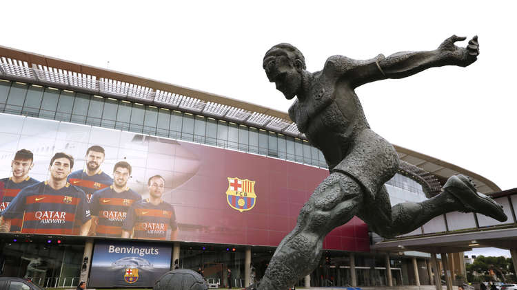 رسميا.. تشكيلة برشلونة للديربي