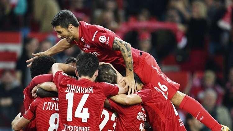 سبارتاك موسكو يستعيد نغمة الانتصارات