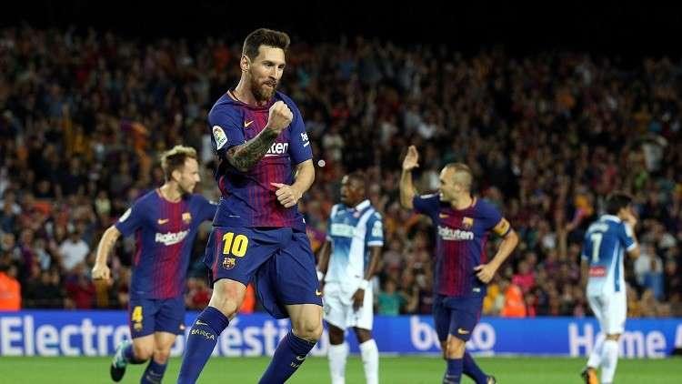 بالفيديو.. برشلونة يسحق إسبانيول في