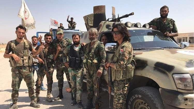 مصدر عسكري ينفي استهداف التحالف الدولي للجيش السوري قرب دير الزور