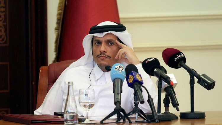 وزير خارجية قطر: ينبغي تحقيق إرادة الشعب السوري