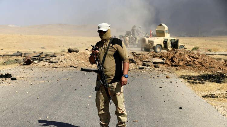 عناصر الجيش العراقي في قضاء تلعفر