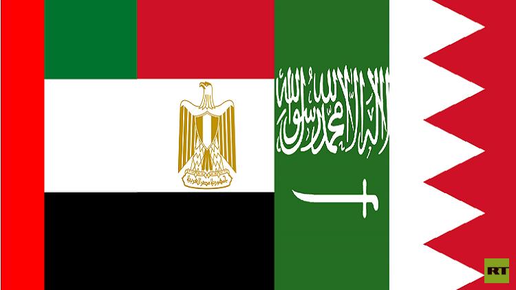 السعودية والإمارات ومصر والبحرين تصدر بيانا جديدا ضد قطر
