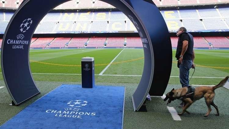 رسميا.. تشكيلة برشلونة وضيفه يوفنتوس