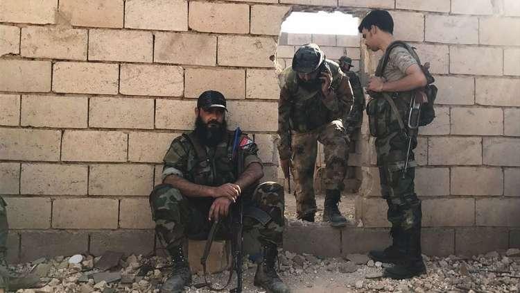 الجيش السوري يقترب من تطهير حمص من داعش