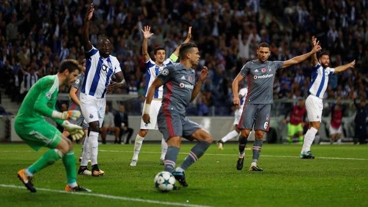 بيشكتاش التركي يفجر مفاجأة مدوية في دوري الأبطال
