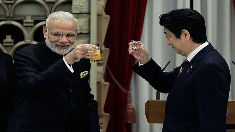 اليابان والهند تنشئان تحالفا غير رسمي