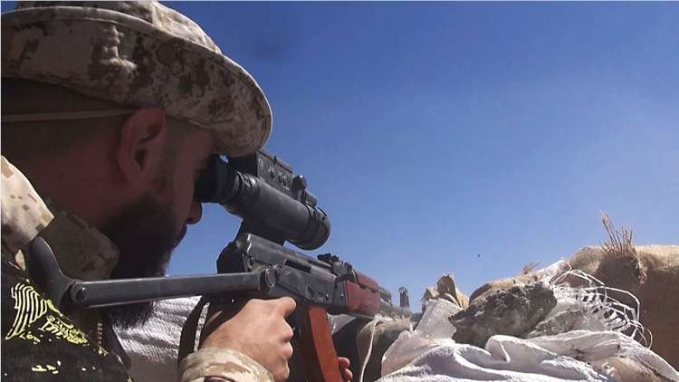 الجيش السوري يسيطر على منطقة مذبحة 2016 بدير الزور