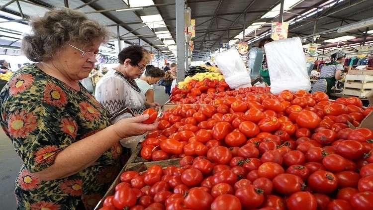 روسيا تضع شرطا لاستيراد الطماطم التركية