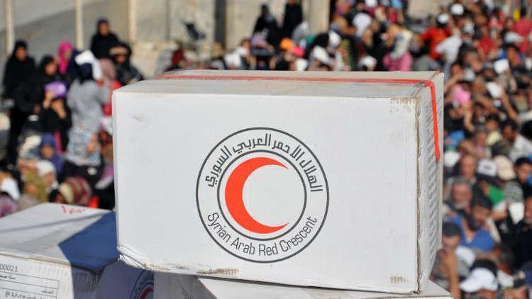 دير الزور تتلقى 2400 طن من المساعدات الإنسانية
