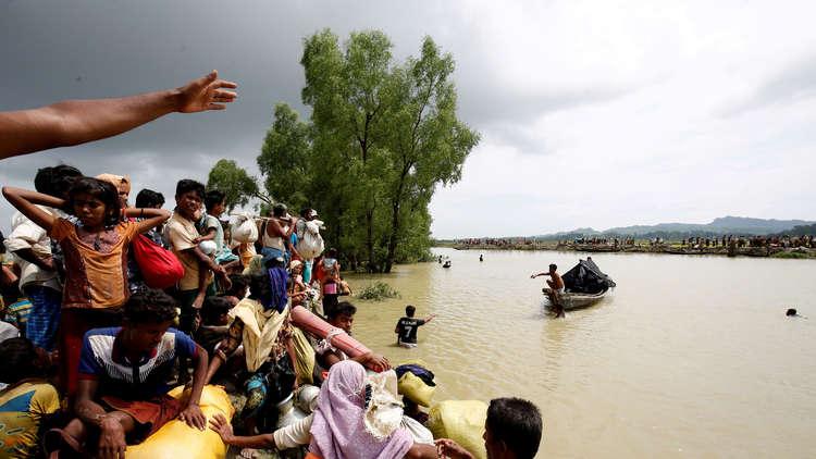 مسؤول إيراني رفيع على حدود ميانمار لمساعدة الروهينغا
