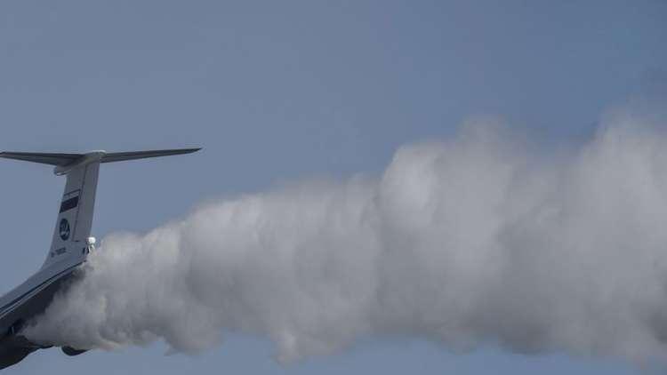 إنزال جوي للقوات الخاصة المصرية من طائرة عسكرية روسية ضخمة