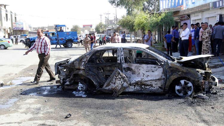 قتيل وعشرة جرحى بتفجير في كركوك شمال العراق