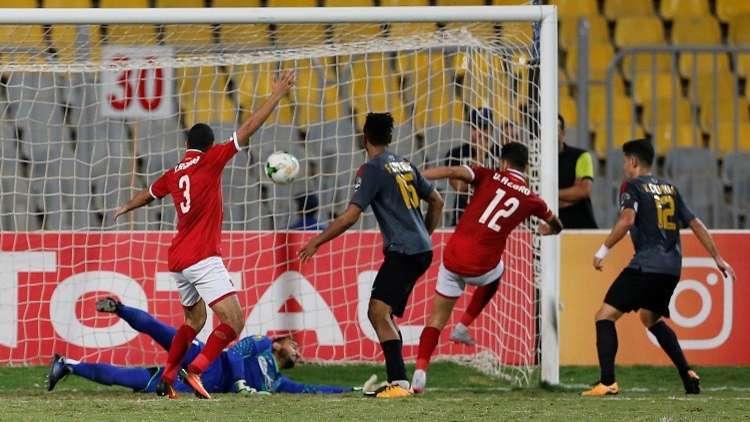 الأهلي يقع في فخ الترجي في دوري أبطال إفريقيا