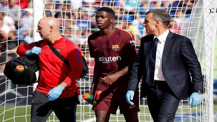 نجم برشلونة الجديد يغيب لأكثر من 3 أشهر بسبب الإصابة