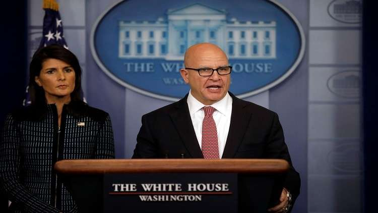 ماكماستر: اتفاقية البرنامج النووي الإيراني لا تفيد إلا طهران