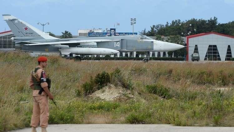 الطيارون الروس يرغمون الأمريكان على الانسحاب العاجل من أجواء دير الزور