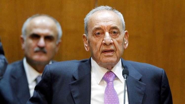 بري: نقترح إجراء انتخابات مبكرة في لبنان قبل نهاية العام