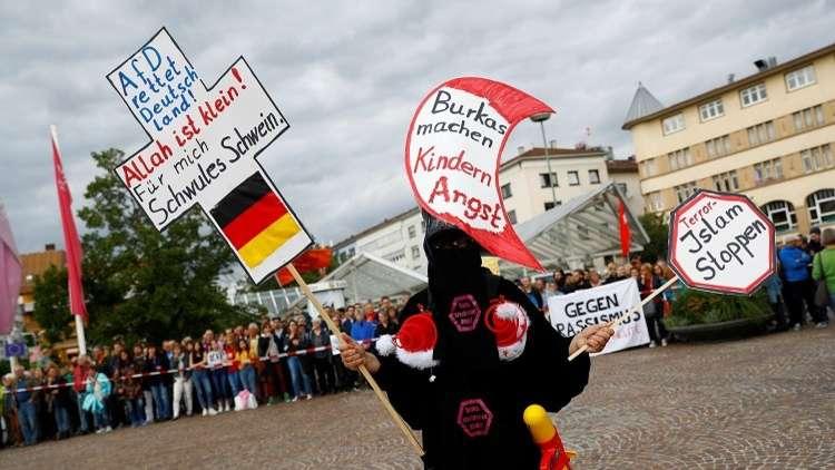 """كثف حزب اليمين القومي """"الألماني البديل"""" حملته ضد الهجرة والإسلام في ألمانيا"""