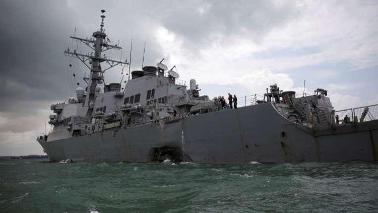 إقالات في البحرية الأمريكية بعد حوادث اصطدام سفنها العسكرية