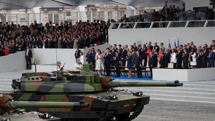 ترامب ينوي إقامة أول عرض عسكري كبير في يوم الاستقلال الأمريكي