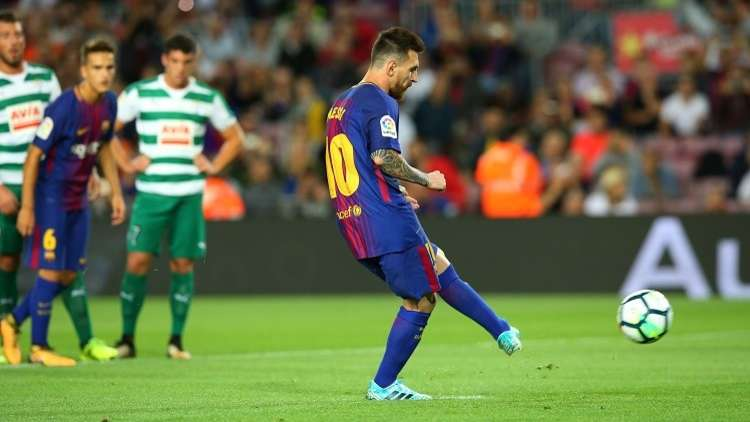 نتيجة بحث الصور عن مباراة برشلونة ضد ايبار