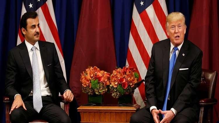 ترامب لتميم: قطر والدول العربية ستحل خلافها بسرعة