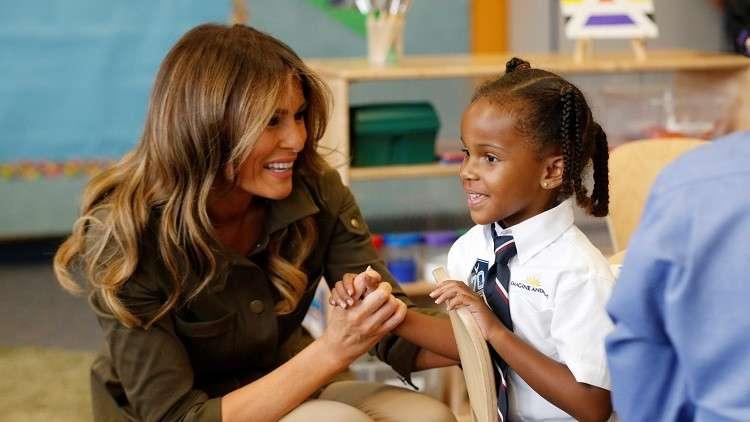 ميلانيا ترامب ومستقبل مشرق للأطفال