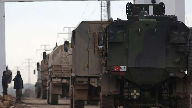 تركيا ترسل قوات خاصة إلى حدودها مع سوريا