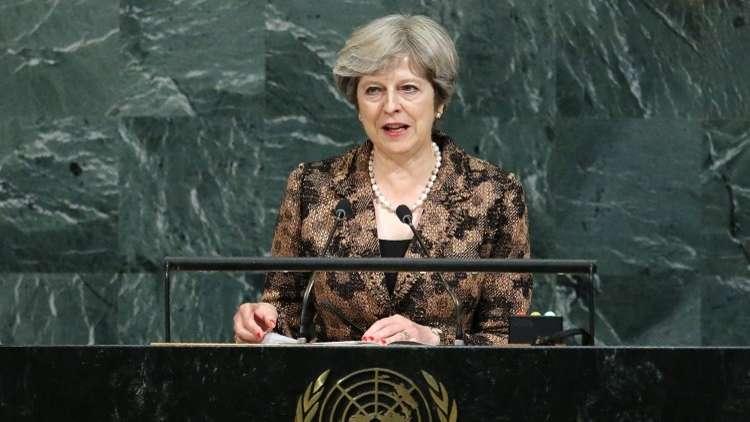 ماي: يجب تركيز الإصلاح في الأمم المتحدة على مكافحة الإرهاب