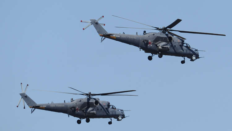 موسكو: مستعدون للنظر في توريد مروحيات قتالية من طراز مي - 35 إلى أفغانستان