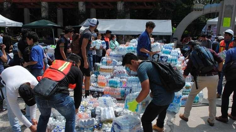 المكسيك تكشف قائمة الدول التي تساعدها في إزالة آثار الزلزال