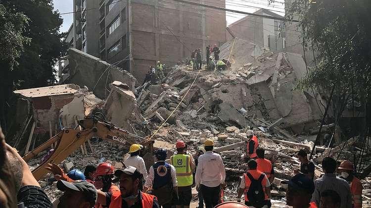 زلزال المكسيك.. قصة من تحت الأنقاض