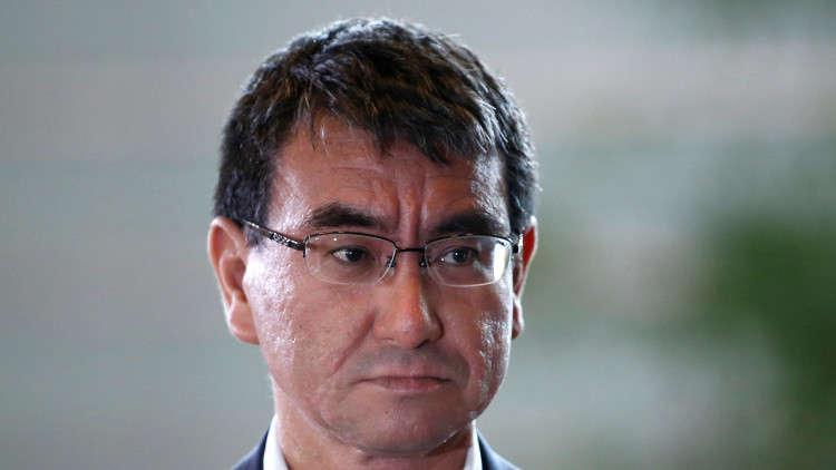 وزير ياباني سابق ينتقد ابنه وزير الخارجية الحالي