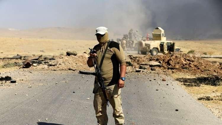 الجيش العراقي يعلن تحرير قضاء عنة بالكامل
